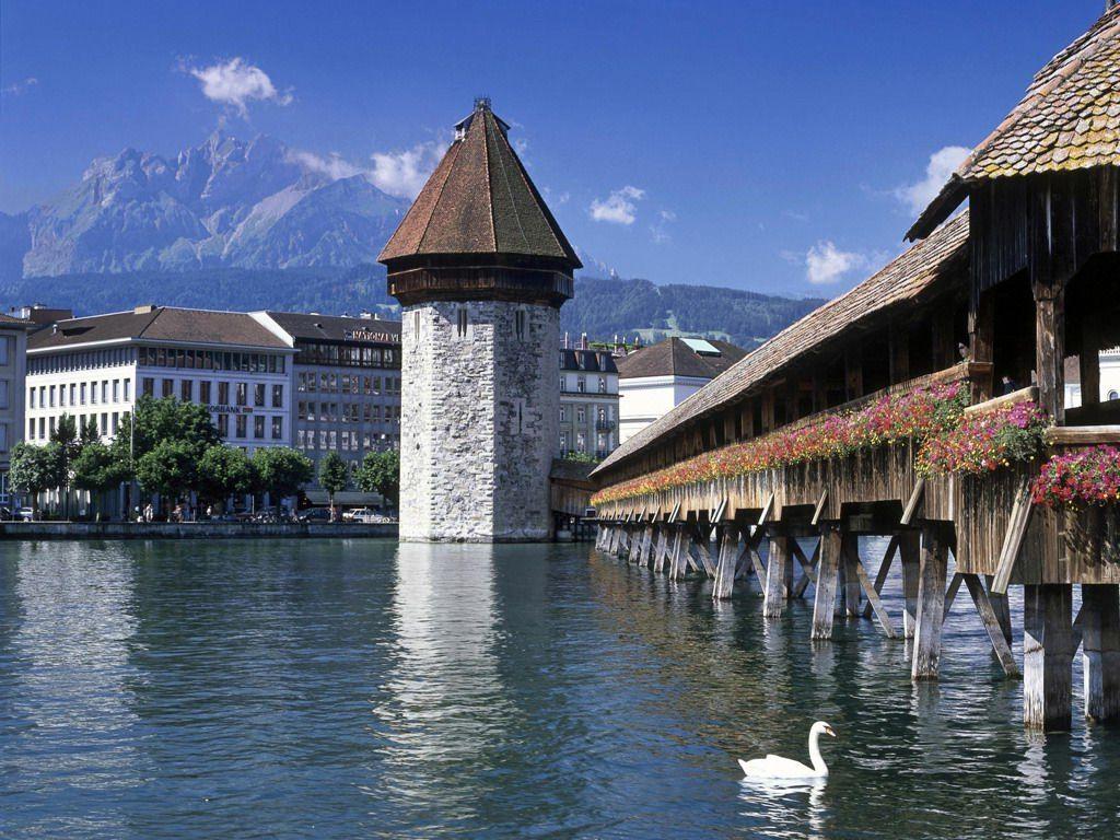 欧洲最古老的木结构桥梁